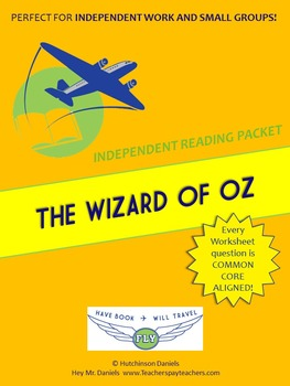 The Wizard of Oz Independent Reading/Small Group Packet
