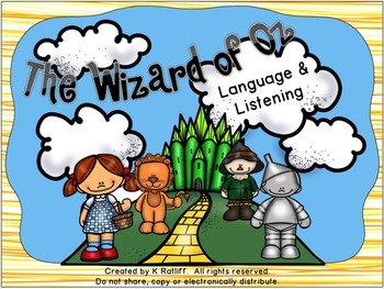 The Wizard of Oz Listening and Language Activities Pack