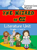 The Wizard of Oz Graphic Organizers
