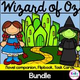 Wizard of Oz MEGA Bundle {Novel Companion, Flipbook, Task Cards}