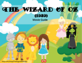 The Wizard of Oz Movie Guide follow along sheet