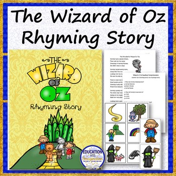 The Wizard of Oz Story Rhyme Bundle