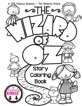 Wizard of Oz Story Book {Coloring Story Book}