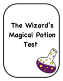 The Wizard's Magic Potion Test for Spooky Science