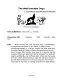 The Wolf and the Dogs - Small Group Reader's Theater by Aesop