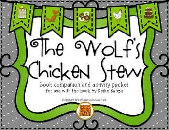 The Wolf's Chicken Stew {Book Companion + Speech & Language Activities}