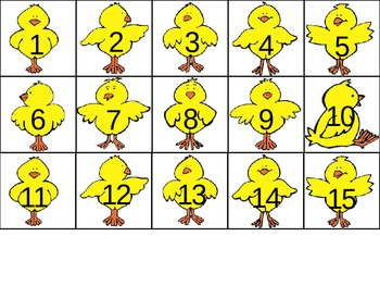 The Wolf's Chicken Stew Numbers for 100 Chart