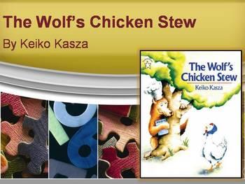 The Wolf's Chicken Stew by Kasza, Text Talk, Collaborative Conversations