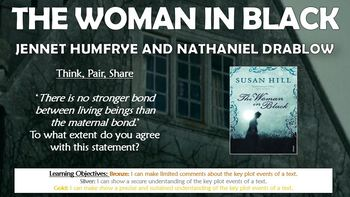The Woman in Black: Jennet Humfrye and Nathaniel Drablow