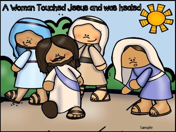 The Woman who touched Jesus craft