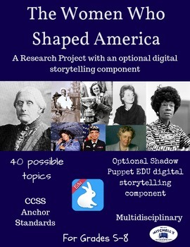 The Women Who Shaped America Research Project