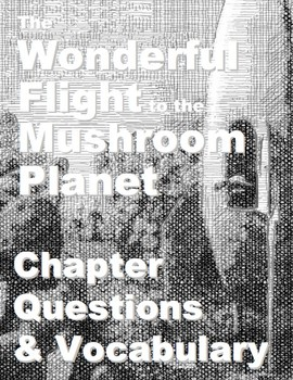 The Wonderful Flight to the Mushroom Planet - Chapter Checkup & Vocabulary