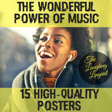 The Wonderful Power of Music - Inspirational Music Posters