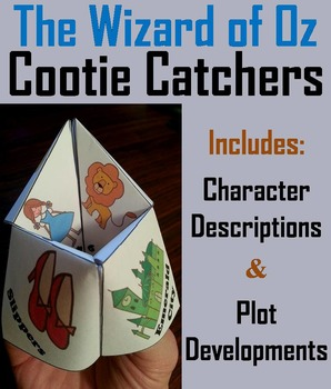 The Wonderful Wizard of Oz Activity (Scoot Unit Review Game)