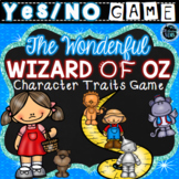 The Wonderful Wizard of Oz Character Traits Game