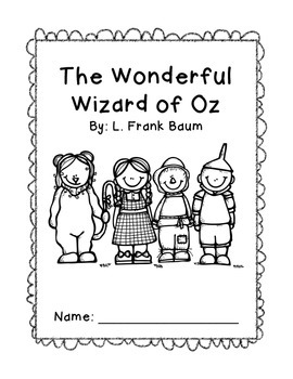 The Wonderful Wizard of Oz - Common Core Unit by Sunshine State Speech