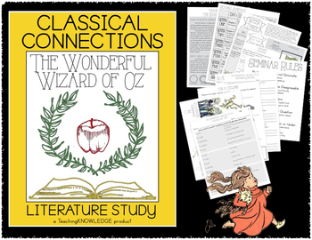 The Wonderful Wizard of Oz - Complete Literature Unit