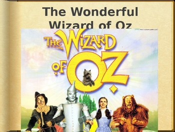 The Wonderful Wizard of Oz Introduction