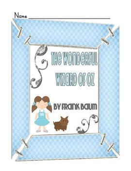 The Wonderful Wizard of Oz Novel Study