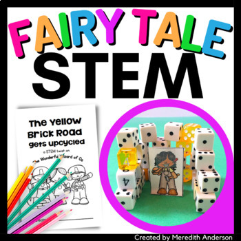 The Wonderful Wizard of Oz STEM Activity - The Yellow Brick Road Gets Upcycled