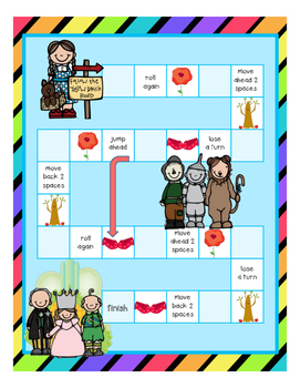 The Wonderful Wizard of Oz (r-controlled vowels)
