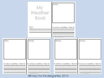 The Wonderful World Of Weather (Science, ELA and Math Themed Packet)