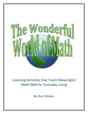 The Wonderful World of Math (complete book)