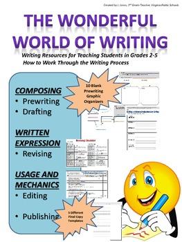 The Wonderful World of Writing- Writing Process Set