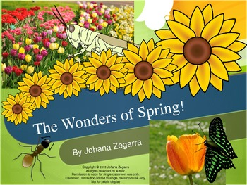 The Wonders of Spring (Power Point Presentation)