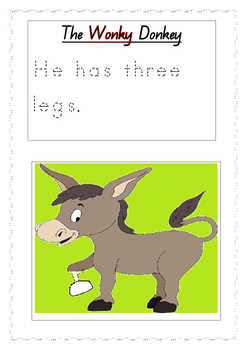 The Wonky Donkey by Craig Smith Looking at adjectives and sentence structure.