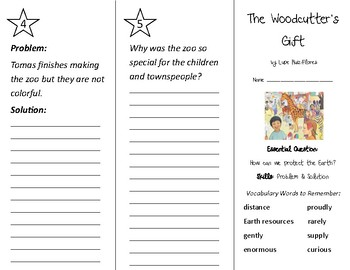 The Woodcutter's Gift Trifold - Wonders 2nd Grade Unit 5 Week 4