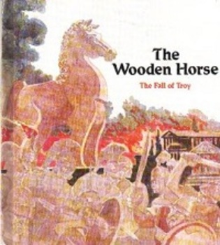 The Wooden Horse book. Gently used. Great classic story fo