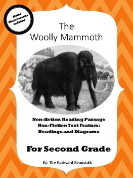 Mammals: The Woolly Mammoth Non-fiction  2nd Grade