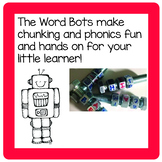 The Word Bots and the Silly Sort Machine