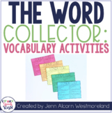 The Word Collector: Vocabulary Activities for Speech & Language Therapy