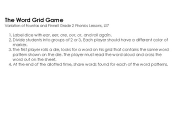 The Word Grid Game