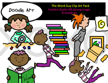 The Word Guy Clip Art Pack