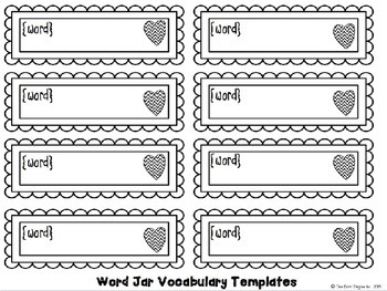 The Word Jar: Vocabulary Enrichment