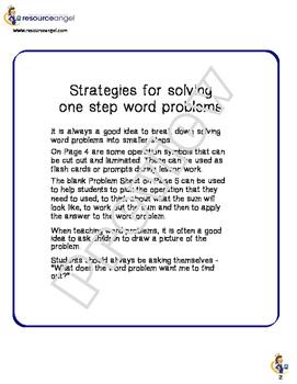 The Word Problem Bundle