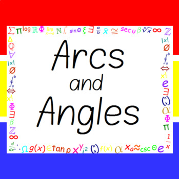 The Word Wall Bulletin Board Kit - Arcs and Angles
