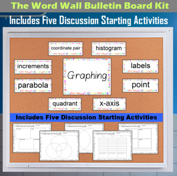 The Word Wall Bulletin Board Kit - Graphing
