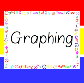 the word wall bulletin board kit graphing by mike s math market