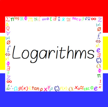The Word Wall Bulletin Board Kit - Logarithms