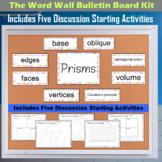 The Word Wall Bulletin Board Kit - Prisms