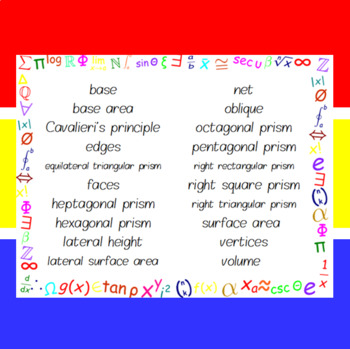 The Word Wall Bulletin Board Kit - Prisms