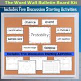The Word Wall Bulletin Board Kit - Probability