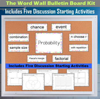 The Word Wall Bulletin Board Kit - Probability