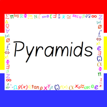 The Word Wall Bulletin Board Kit - Pyramids