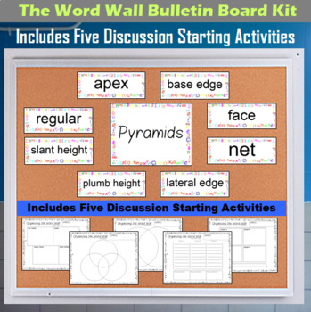The Word Wall Bulletin Board Kit - Pyramids