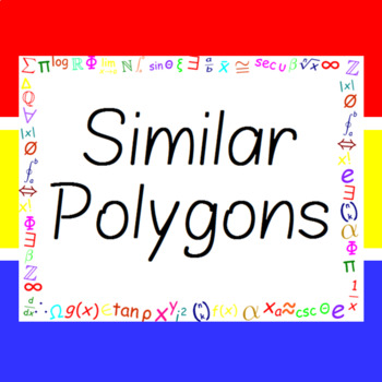 The Word Wall Bulletin Board Kit - Similar Polygons